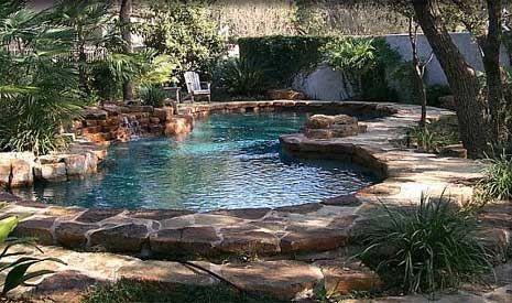 Google Image Result For Http Www Calfinder Com Blog Wp Content Uploads 2010 08 Organic Pool Ideas Jpg Pool Landscaping Small Backyard Pools Backyard