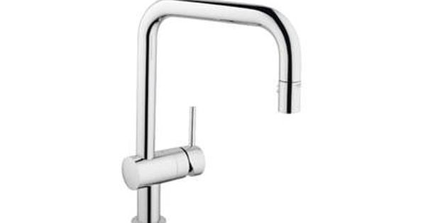 Grohe Minta 2.2 Gpm Single-Handle Deck Mount Kitchen Sink Faucet