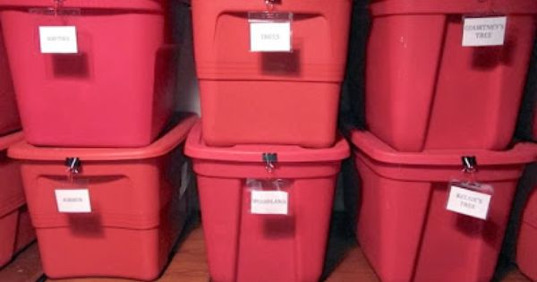 Effective labels for storage totes like this so much for Garage totes 76