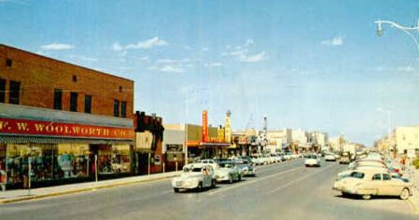 old pictures of woolworth odessa texas street scene odessa texas 1950s. Black Bedroom Furniture Sets. Home Design Ideas