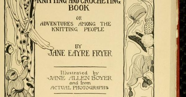 People Knitting Book : The mary frances knitting and crocheting book adventures