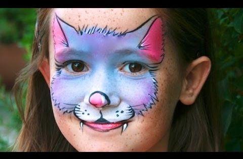 maquillage de petit chat tutoriel maquillage facile pour enfants maquillage de chat. Black Bedroom Furniture Sets. Home Design Ideas