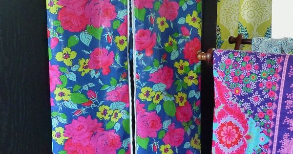 Easy Diy Garment Bag In Laminate Fabrics Pattern And