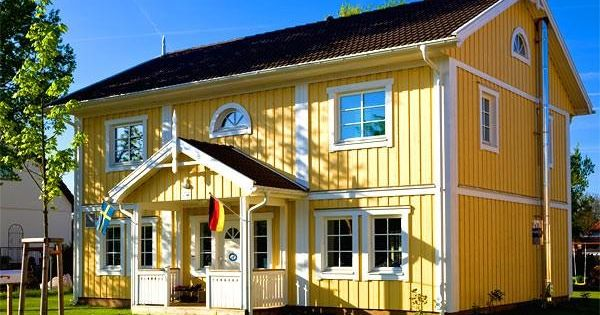 sj dalshus classic sj dalshus schwedenhaus holzhaus fertighaus schwedenhaus pinterest. Black Bedroom Furniture Sets. Home Design Ideas