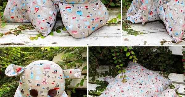 nilpferd kissen hippo kuscheltier n hen stoff. Black Bedroom Furniture Sets. Home Design Ideas