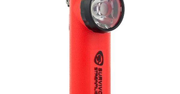 Streamlight Survivor Low Profile Right Angle Flashlight 4aa Alkaline Batteries 175 Lumens A Lightweight Hand Held P Streamlight Flashlight The Fire Store