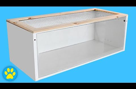 Diy hamster cage ikea billy cage youtube coiffures for Ikea hamster cage