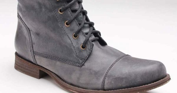 GBX Shoes Cap Toe Washed Leather Boot
