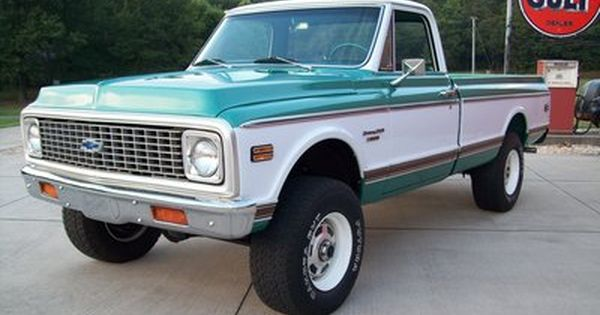 1972 Chevy K20 BB 4WD-We are on the hunt for one ...