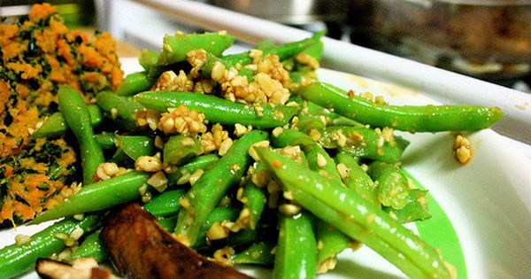 Green bean salad   Foods   Pinterest   Bean Salads, Green Beans and ...