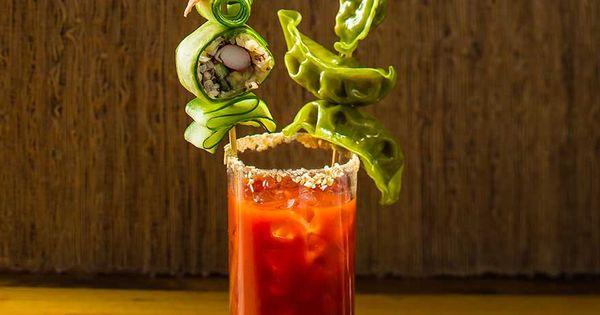 California Roll Bloody Mary | Recipe | Bloody Mary, California Rolls ...