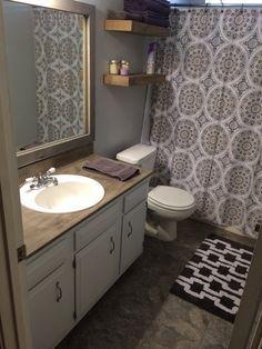 Bathroom Reveal Diy Bathroom Remodel Bathroom Remodel Master