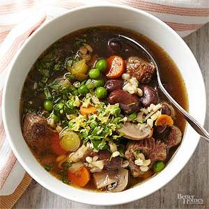 Spring Lamb And Fava Bean Soup Recipe With Images Healthy Slow Cooker Slow Cooker Recipes Slow Cooker Recipes Healthy