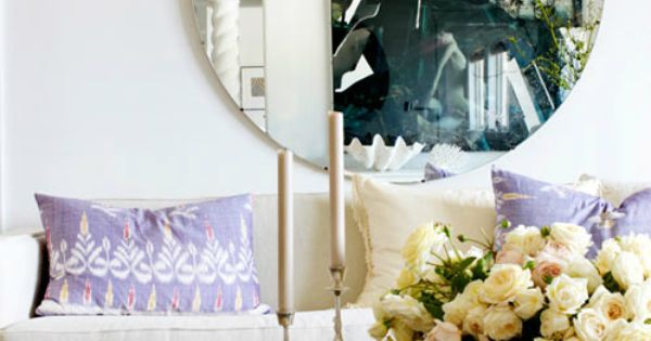 amethyst & large round interior design and decoration