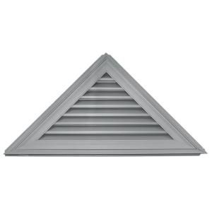 Builders Edge 12 12 Triangle Gable Vent 030 Paintable Product Must Be Painted Easy To Install On All Types Of Gable Vents Gable Roof Design Builders Edge