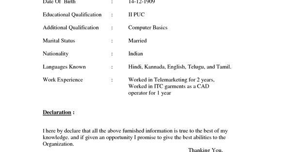 Resume Format Doc File Download Resume Format Doc File Download, Resume Format…