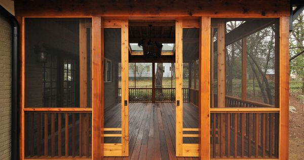 Craftsman Sliding Screen Porch Panels Innovative