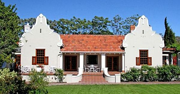 Traditional Capedutch Style Home In South Africa Front