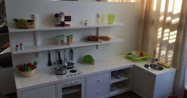 kinderk che aus kallax ikea regal diy pinterest kind kinderk che und k chen. Black Bedroom Furniture Sets. Home Design Ideas