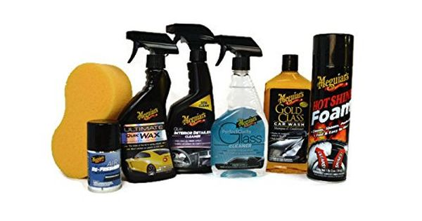 Meguiars 7piece Ultimate Car Care Set Full Sized Products With Hot