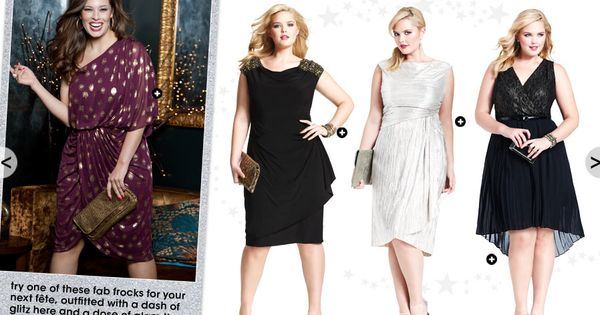 The Plus Size Holiday Style  Women&39s Dresses  Pinterest ...