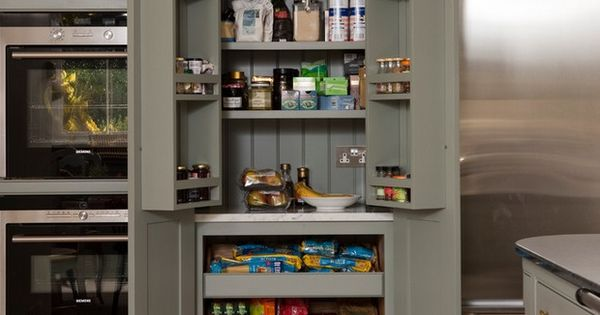 Kitchen Pantry Cabinet Shallow Shelves On Top