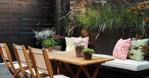 Photos la banquette dans tous ses tats banquette la terrasse et terrasses for Banquette terrasse