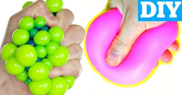 Diy Squishy Dough : BAKING SODA STRESS BALLS EASY DIY Squishy Stress Ball Diys Pinterest Baking soda and Soda