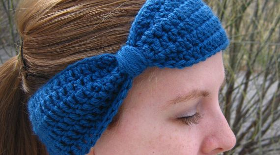Free Crochet Ear Warmer Patterns For Adults : Braided Ear Warmer Pattern Free Crochet Pattern for Bow ...