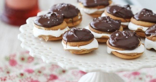 Salted Chocolate Covered Fluffer Nutter Wafers | Chocolate Covered ...