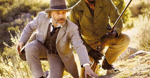 Django unchained still featuring jaime foxx amp christoph waltz cinema