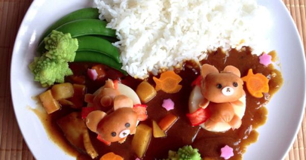 japanese loves curry childrens meals cute bento cute food