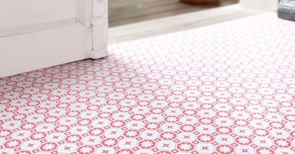 Carreaux de ciment 10 rev tements de sol imitation - Linoleum imitation carrelage ...