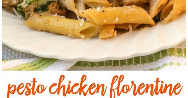 Pesto Chicken Florentine | Recipe | Chicken Florentine, Pesto Chicken ...