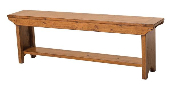 Lh Imports Ls016 Ad Irish Coast Bench At Lowe S Canada Furniture Reclaimed Pine Furniture Dining Bench