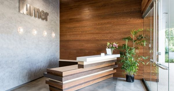 Concrete And Wood Elements Turner Constructions San Diego