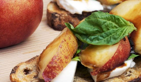 Check out Summer Tartines With Mozzarella, Basil, and ...