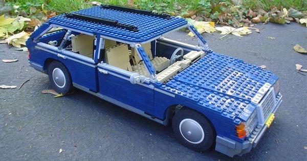 Lego mercedes benz e class w 124 t modell cars for Lego mercedes benz