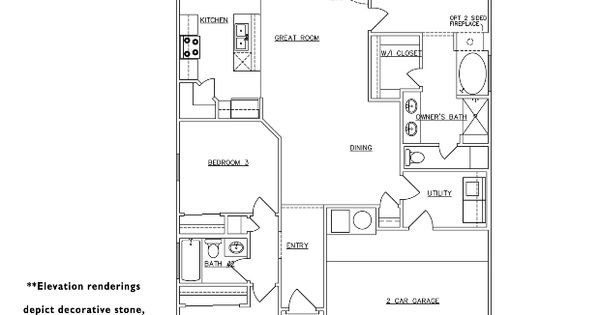 Raylee Homes Floor Plans: RayLee Homes The Pitch Floor Plan Via Www.nmhometeam.com