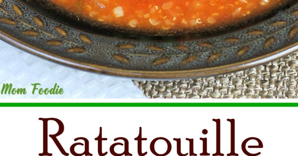 Quinoa soup, Ratatouille and Quinoa on Pinterest
