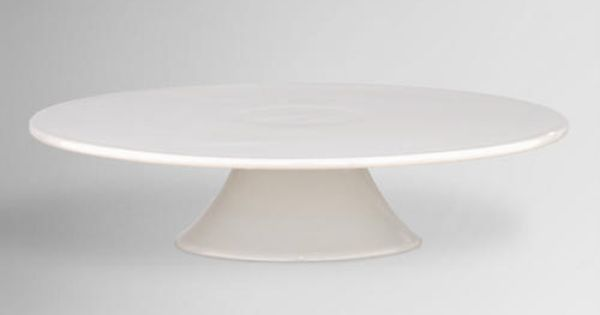 White Porcelain Cake Stand | Pedestal, Dessert tables and Snow