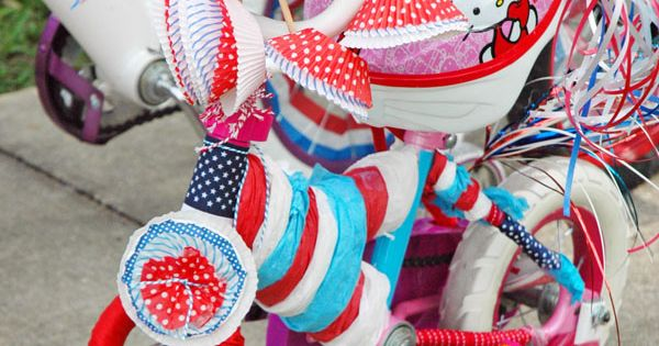 4th of july scooter decorations