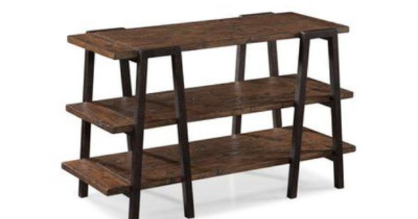 Magnussen lawton rectangular console table overall for 10 inch depth console table