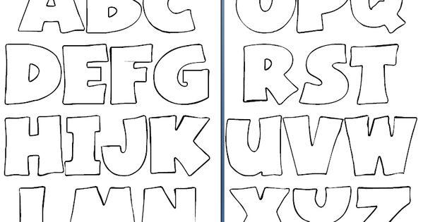 Letras Goticas Para Imprimir: Molde De Letras Para Imprimir Y Recortar