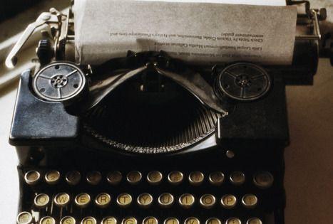 Brazil Party Prop - vintage typewriter