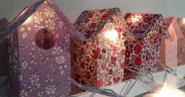 Deco chambre enfant fabriquer des petites maisons en - Fabriquer un valet de chambre ...