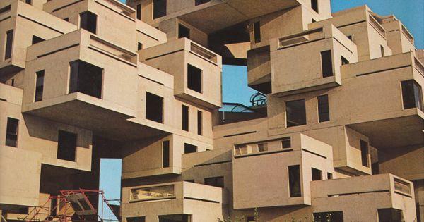 Fuckyeahbrutalism habitat 67 montreal quebec canada 1966 67 moshe safdie structure - Divi builder 2 0 7 ...