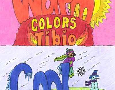 Opdracht kleur pffff warm brrr koud waar denk jij aan bij warm en koud gebruik je - Kleur warm en koud ...
