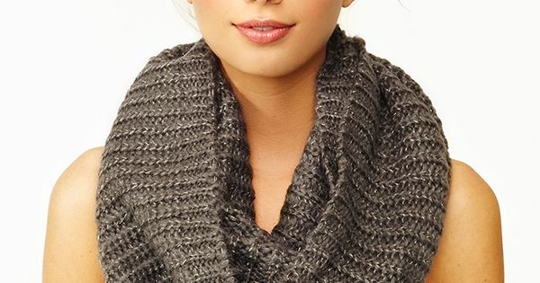 College Girl Style Infinity Scarf College Girl Style