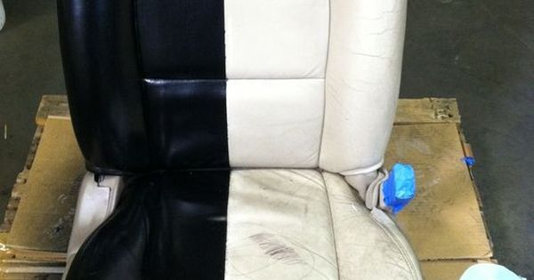 Spray Paint Leather Car Seats Give Your Worn Tired